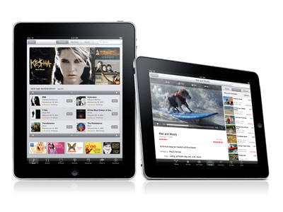 Apple unveils the ipad tablet
