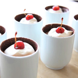Black Forest Chocolate Fondant