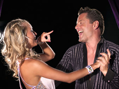 Chris hollins - ola jordan - strictly come dancing