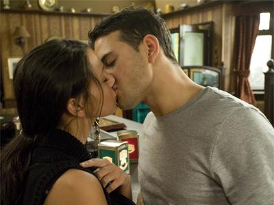 Corrie kiss sparks fury