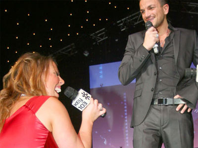 Peter Andre's shock proposal