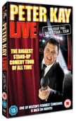 Win a copy of Peter Kay Live DVD