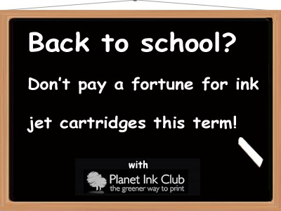 Planet ink club back to school offer