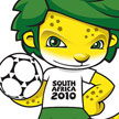 Famous world cup footballing mascots - south africa