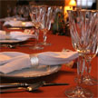 Table etiquette, fine dining, dinner party