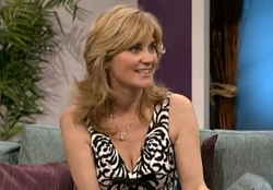 Anthea Turner kicks husband out after affair with 24-year-old woman