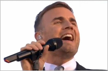 Gary Barlow and Lloyd Webber work together on new Take That songs