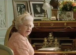 Queen's delight at her cameo role in 007 stunt at Olympics opening ceremony