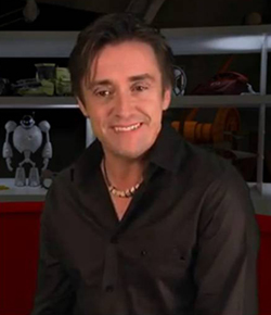 Richard Hammond's car flips on set of new TV show