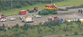 Seven men in Britain arrested in anti-terror raids