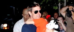Tom Cruise and daughter Suri reunites for the first time since divorce