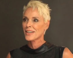 Disorientated Brigitte Nielsen sleeps in LA park