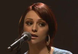 Cher Lloyd flees stage after audience member throws bottle of urine at her