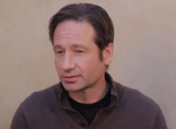 David Duchovny denies dating x-files co-star Gillian Anderson