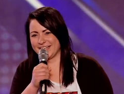 Lucy Spraggan's comedy X-Factor audition is a big hit among celebs