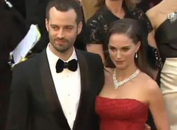 Natalie Portman and Benjamin Millepied's romantic starlit wedding