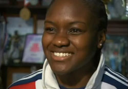 Home-grown Olympic talent punches her way into history books