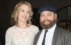 Zach Galifianakis and long term love Quinn Lundberg marry in private ceremony