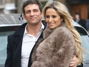 Alex Reid is arrested following commotion at his home