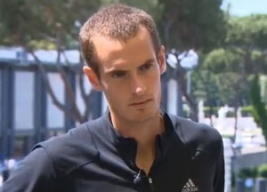 Andy Murray plays down back problems