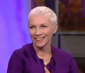 Annie Lennox marries a third time after vowing never to wed again