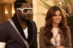 Couple Cheryl Cole and Will.i.am involved in a minor car accident