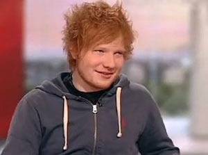 Ed Sheeran named as UK's most pirated artist