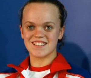 Swimmer Ellie Simmonds is set for a third win after storming her second gold