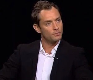 Jude Law's thicker hair a-head of him making headlines