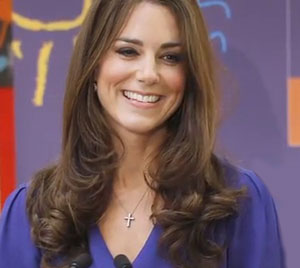 Kate Middleton in hospital in labour