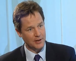 Nick Clegg issues video apology over tuition fees