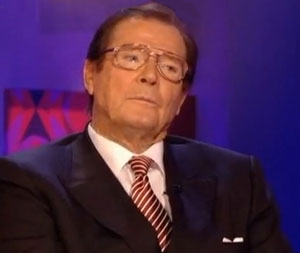 Sir Roger Moore: My first two wives used to beat me up