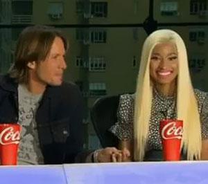 American Idol Judges' Mariah Carey and Nicki Minaj in explosive argument