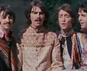 Unseen Beatle's Mystery Tour footage shown online for the first time