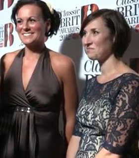 Military Wives win Single of the Year at 2012 Classic Brit Awards