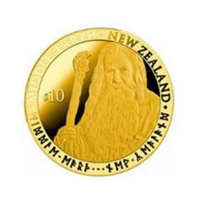 Precious Golden Hobbit Coins to become legal tender in New Zealand