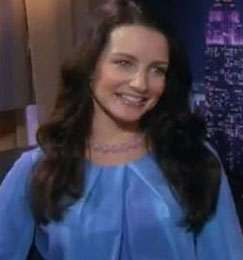 Kristin Davis is excited as she hits Oxfam fundraising goal