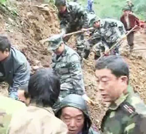 18 children found dead after landslide in China
