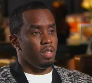 "P Diddy's involvement in a car accident was ""a close one"""