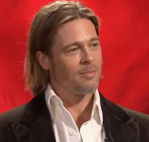 Brad Pitt donates £700 to English hospital charity