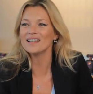 Kate Moss bares all in a Vanity Fair Interview