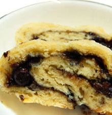 Blueberry Pear Roly Poly