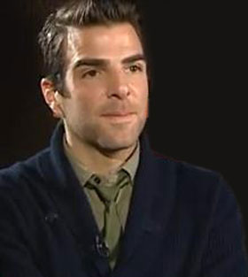 Obama: 'Heroes' bad guy Zachary Quinto manned hotline to show his support
