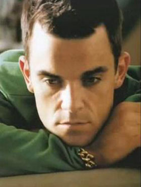 Robbie Williams has number one single after eight years