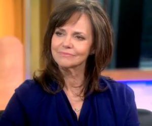 Mortified Sally Field arrested for method acting