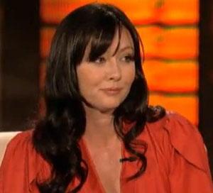 Shannen Doherty calls cops after Twitter Fan threatens suicide