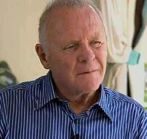 """Anthony Hopkins on playing Hitchcock: """"It was daunting"""""""