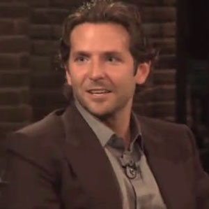 Film star Bradley Cooper shows off third nipple on TV