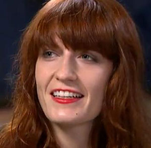 Florence Welch stops concert to break up a fight