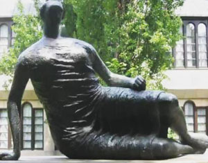 "Plans to sell Henry Moore's ""Old Flo"" becomes too complicated"